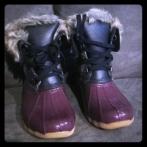 Shoes - Faux Fur Duck boots